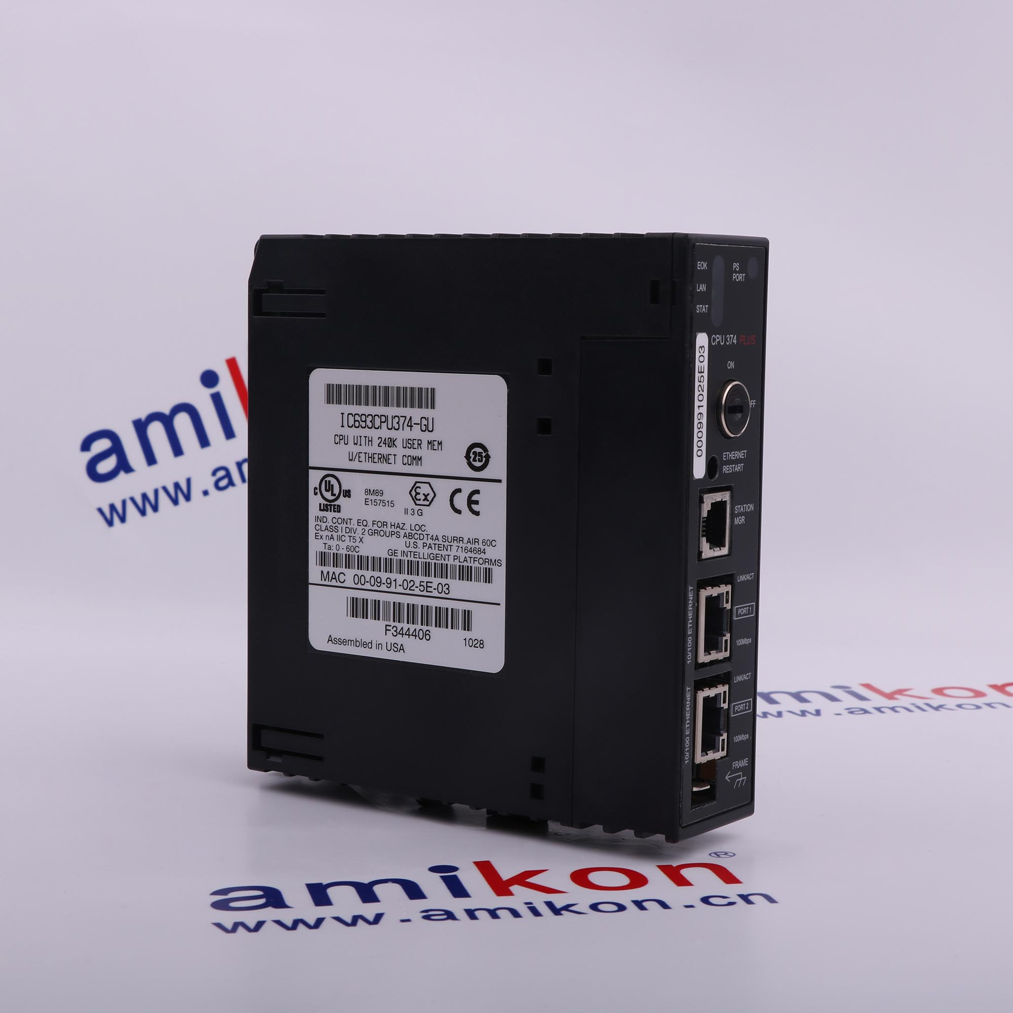SELL WELL GE  IC693ACC308  PLS CONTACT:sales8@amikon.cn
