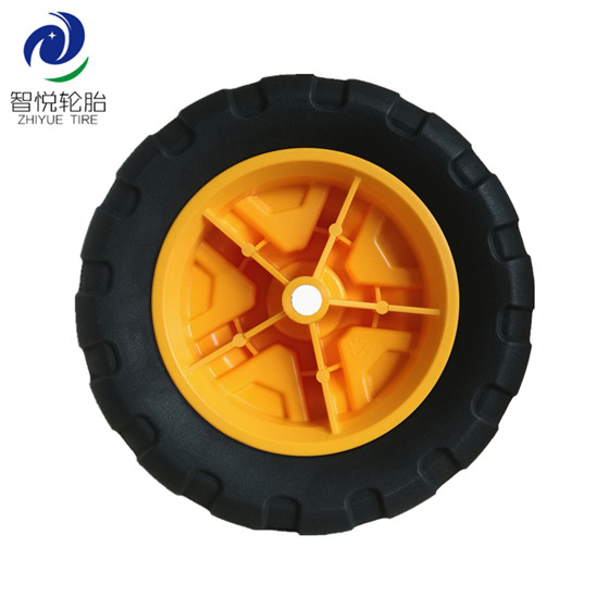 High quality rubber tires 8 inch semi pneumatic rubber wheel for rolley generator tool cart