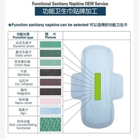 Excellent negative ion sanitary napkin