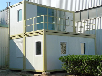 Two Storey Containers House