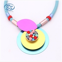 Yiwu silicone necklace,BLUE STONEprovides one-stop service