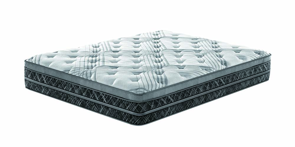 The 34 cm double layer pocket spring mattress