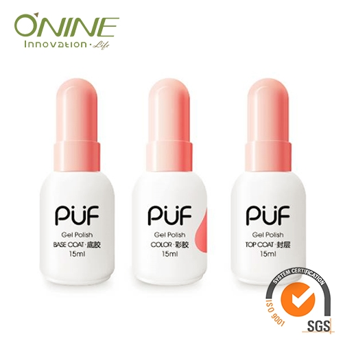 Nail paint choose Three Step Gel, its O'Nine Beauty Technol