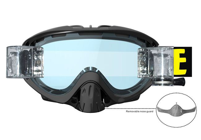 Skiing equipmentEvaluation of high snow goggles,industry-cl
