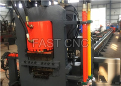 CNC Flat Steel Punching And Shearing Line Model BJC 400,Flat Steel Punching Line,Flat Steel Shearing Line,Flat Steel Punching Machine