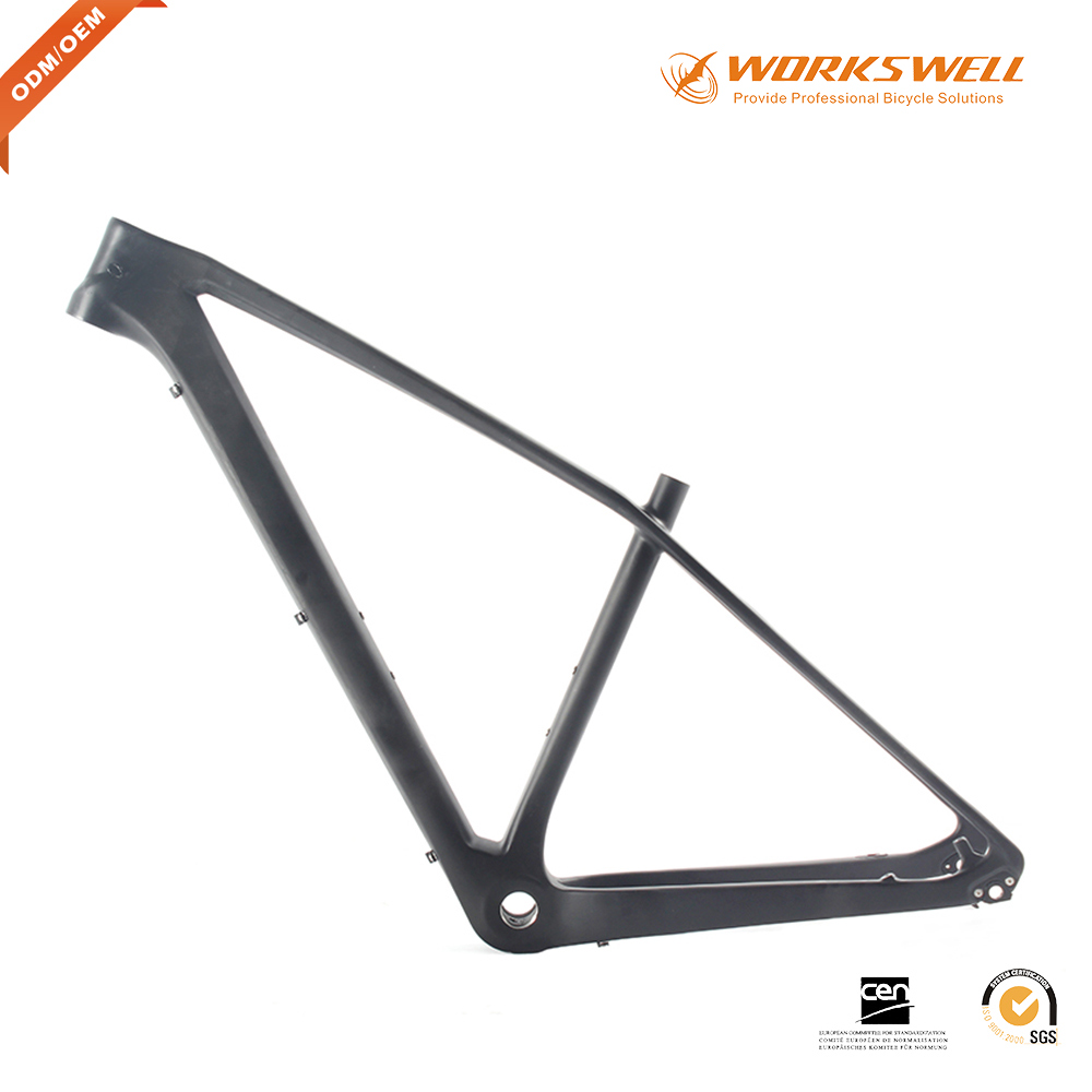 XC Carbon Fiber Hardtail Mountain Bike Frame with Lightweight
