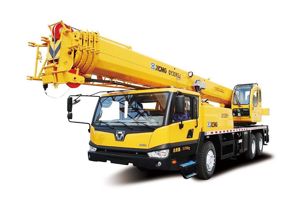 XCMG 25 ton mobile truck crane QY25K5-I