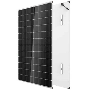 high efficiency 350w monocrystalline dual glass solar panel