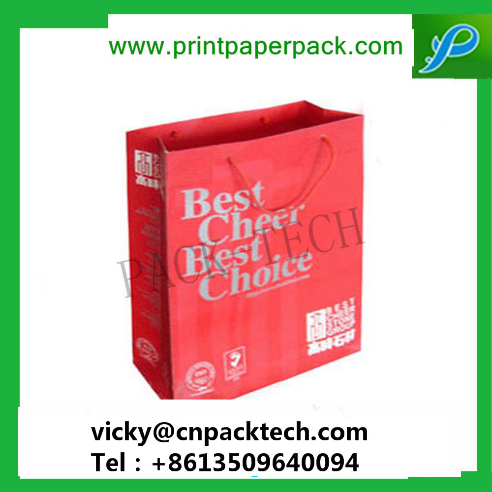 Custom Print Bags Bespoke High Quality Packaging Bags Retail Paper Packaging Gift Packaging Paper Bag Gift Handbag Custom Tradeshow Bag
