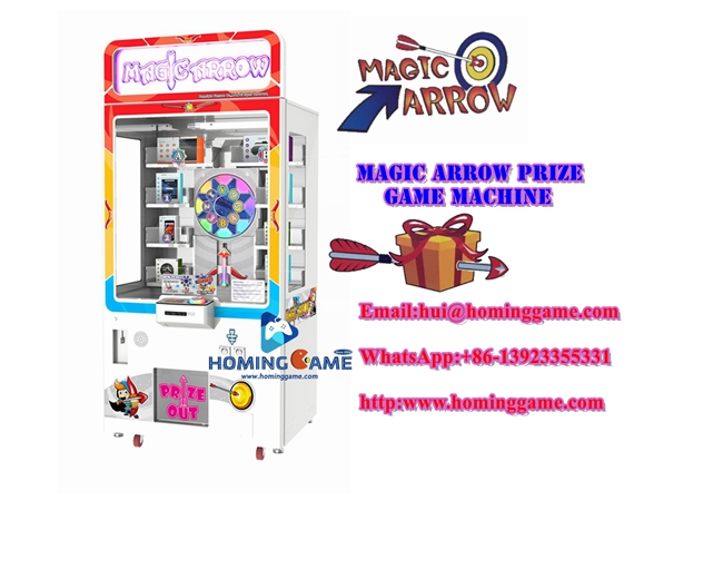 Exciting Amusement Skill Game Magic Arrow Game Machine  |Toys Gift Turntable Arcade Game