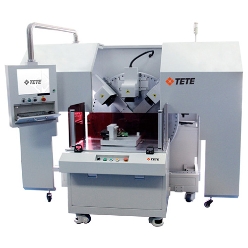 Triple Head 3D Laser Marking Machine, Engraving System Special for Multi Plane products TETE DPF-3M40