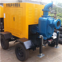 Mobile Trash Self Priming Diesel Engine Pump