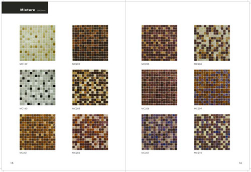 Goldstar Glass Mosaic