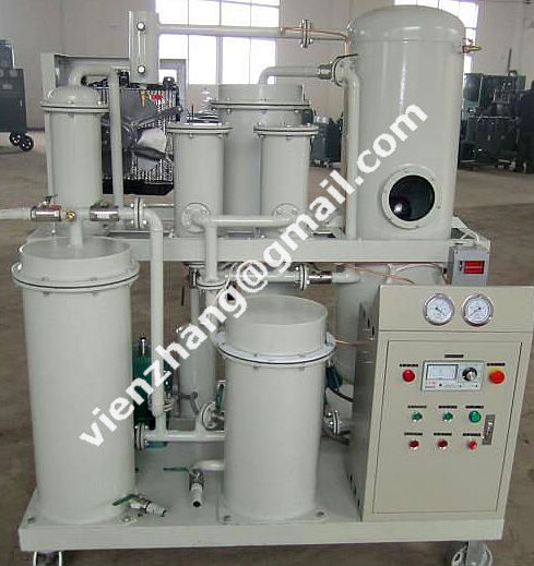 Hydraulic oil filtration and purification system