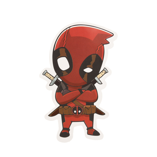 Die Cut Stickers No Minimum | Deadpool Custom Stickers |  ™