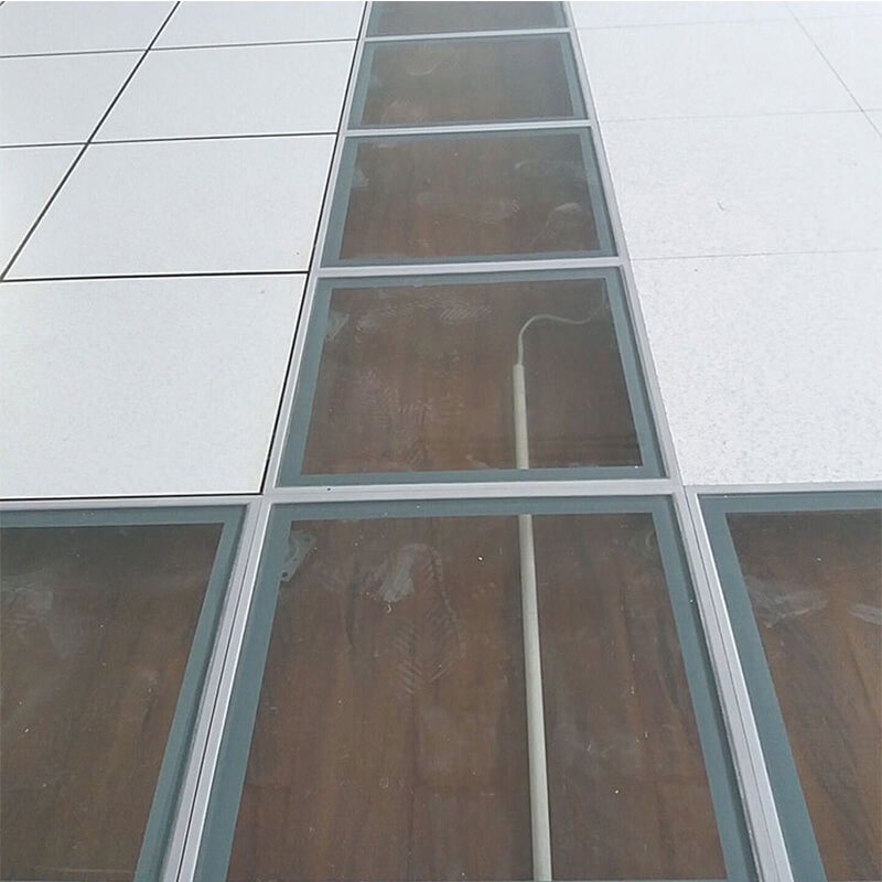 Tempered/Toughened Glass Raised Floor