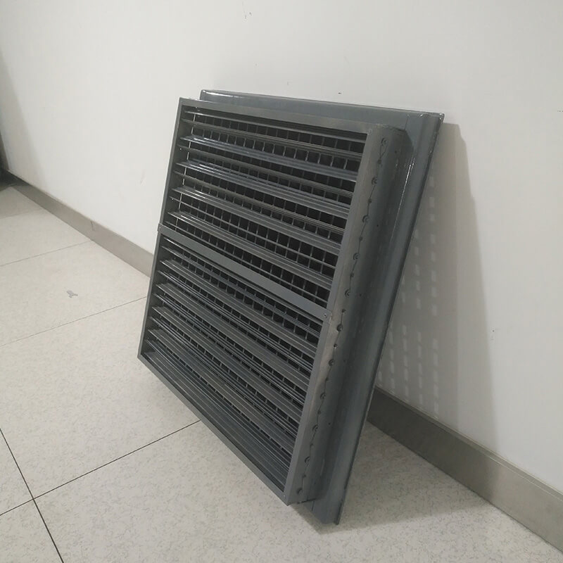 anti-slip Slant 16º Steel Perforated Panel