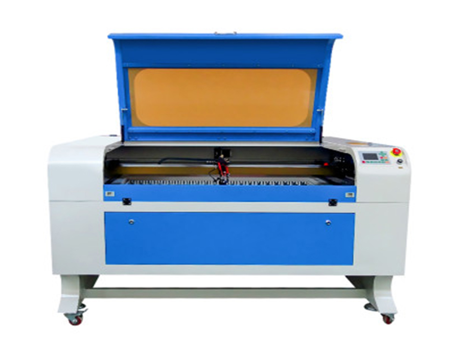 Laser engraving cutting machine for leather fabric