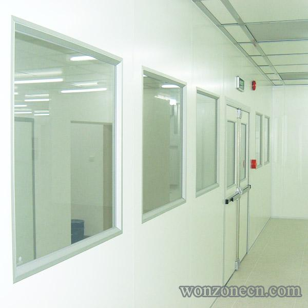 Clean Room Single Glass Window