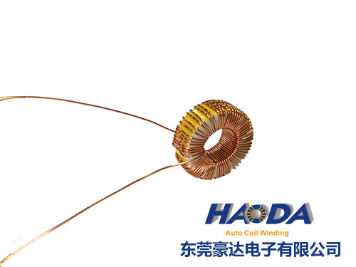 China high Frequency customized Toroidal core coil Magnetic coil manufacture