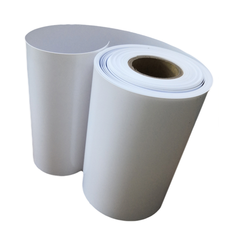 White Heat Resistant Plastic PP Polypropylene Film Rolls for Vacuum Forming
