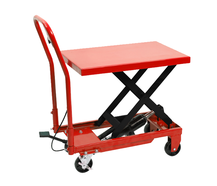 330LB HYDRAULIC LIFT TABLE CART