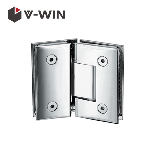 Shower door glass hinge 135 degree