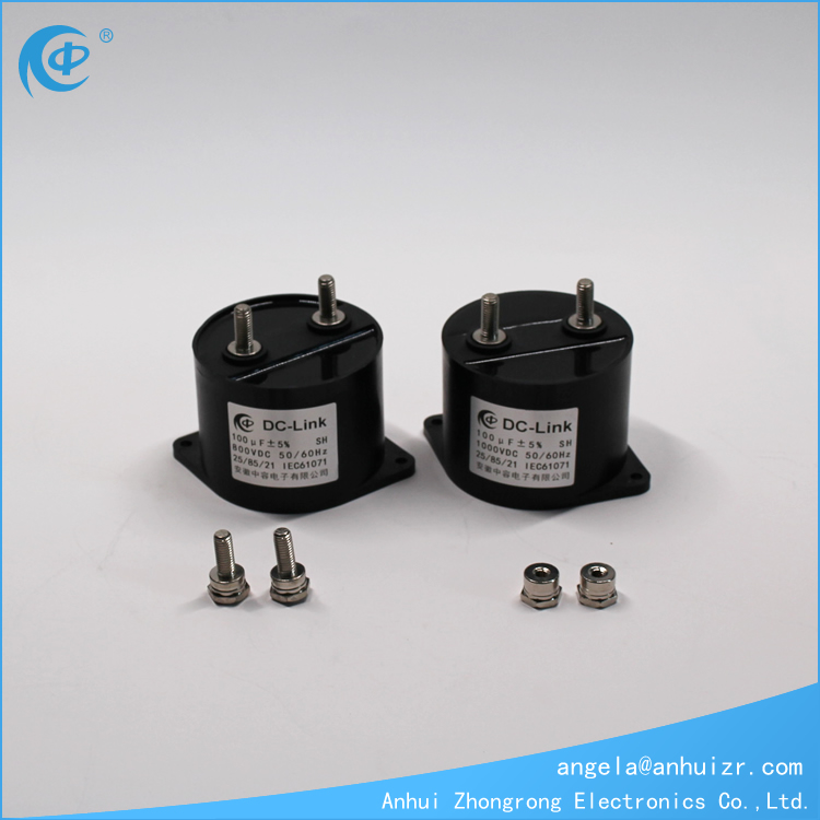 1000VDC 100UF DC-Link Filter Capacitor For UPS Power