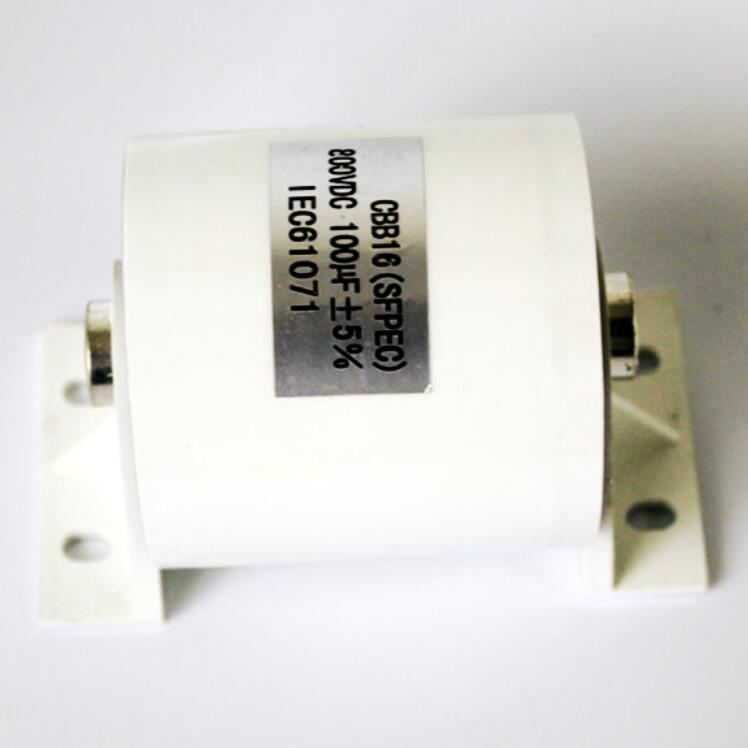 White 800V 100UF Welding Machine Capacitor