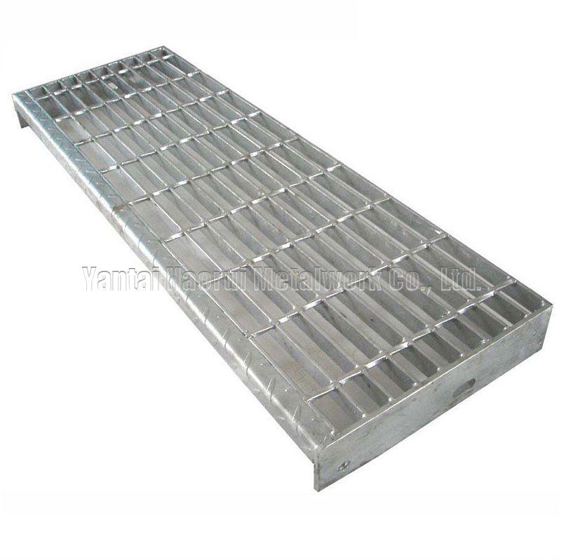 T4 Steel Grating Stair Treads