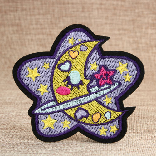 Sweet Moon Small Order Custom Patches