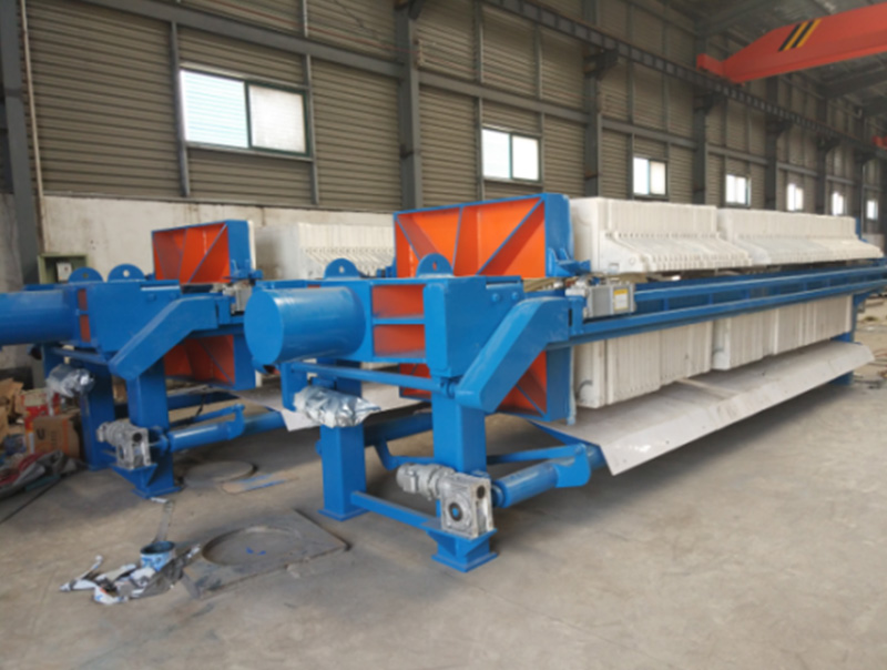 Chamber Automatic Plate Pulling Filter Press