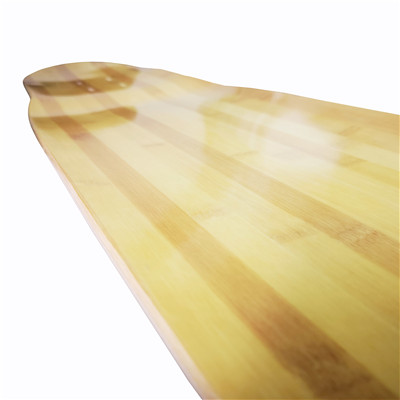 2019 China Hot Sale BAMBOO Glassfiber Longboard Deck wholesale Dancing Longboard Skateboard