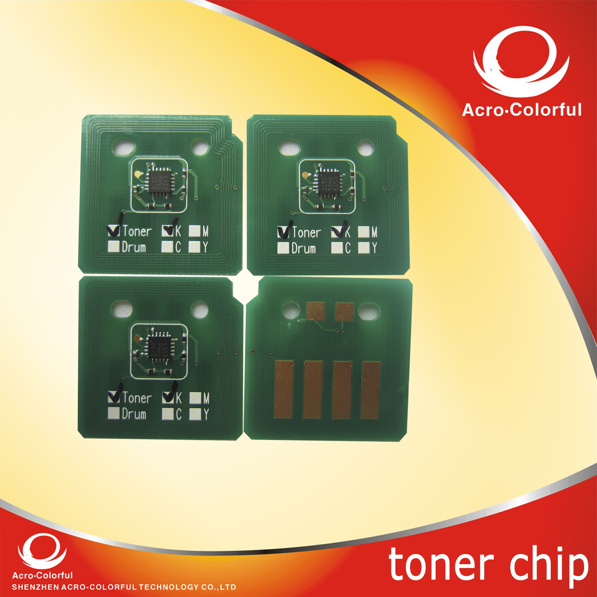 Xerox Phaser 7500 toner chip
