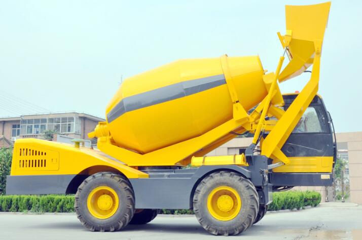 3M3 model self loading concrete mixer
