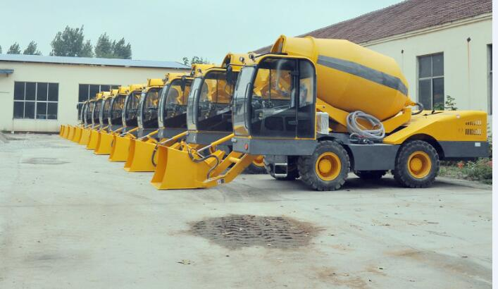 4M3 model self loading concrete mixer