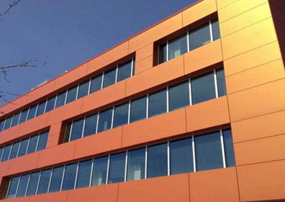 A2 FR Core Metal Composite Panels