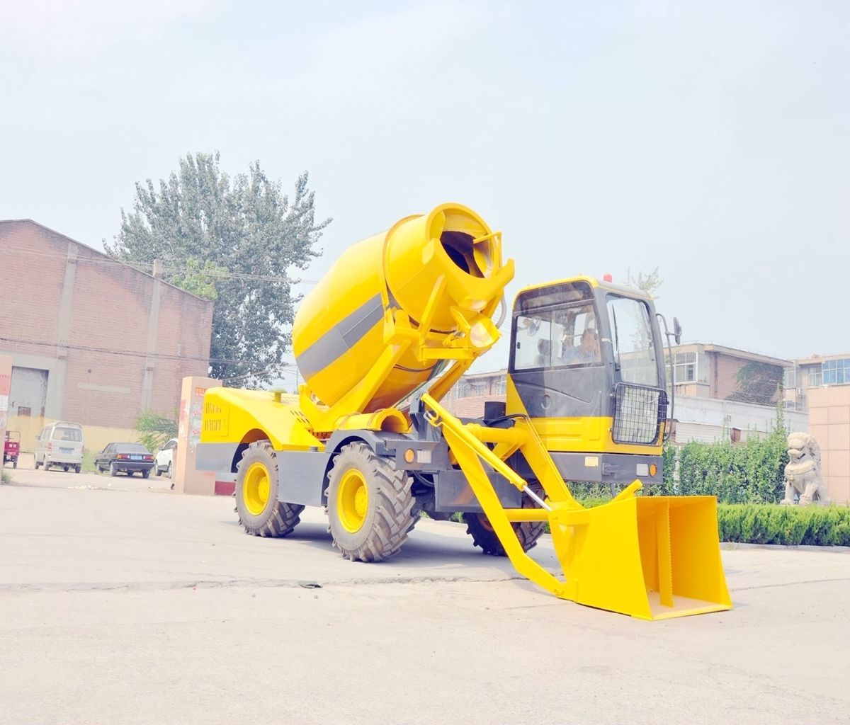 3.5M3 self loading concrete mixer price