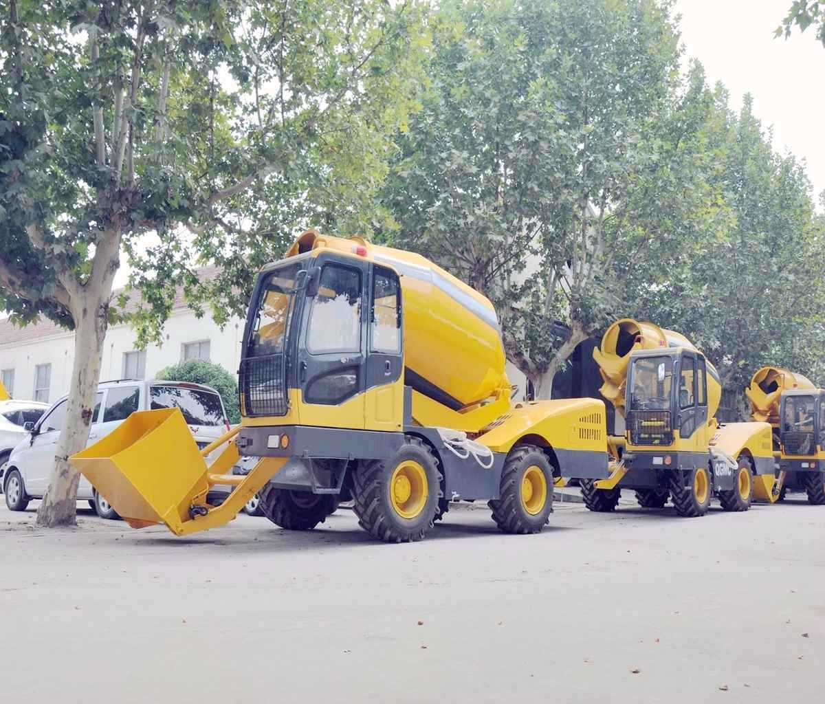 3.5M3 mobile  self loading concrete mixer