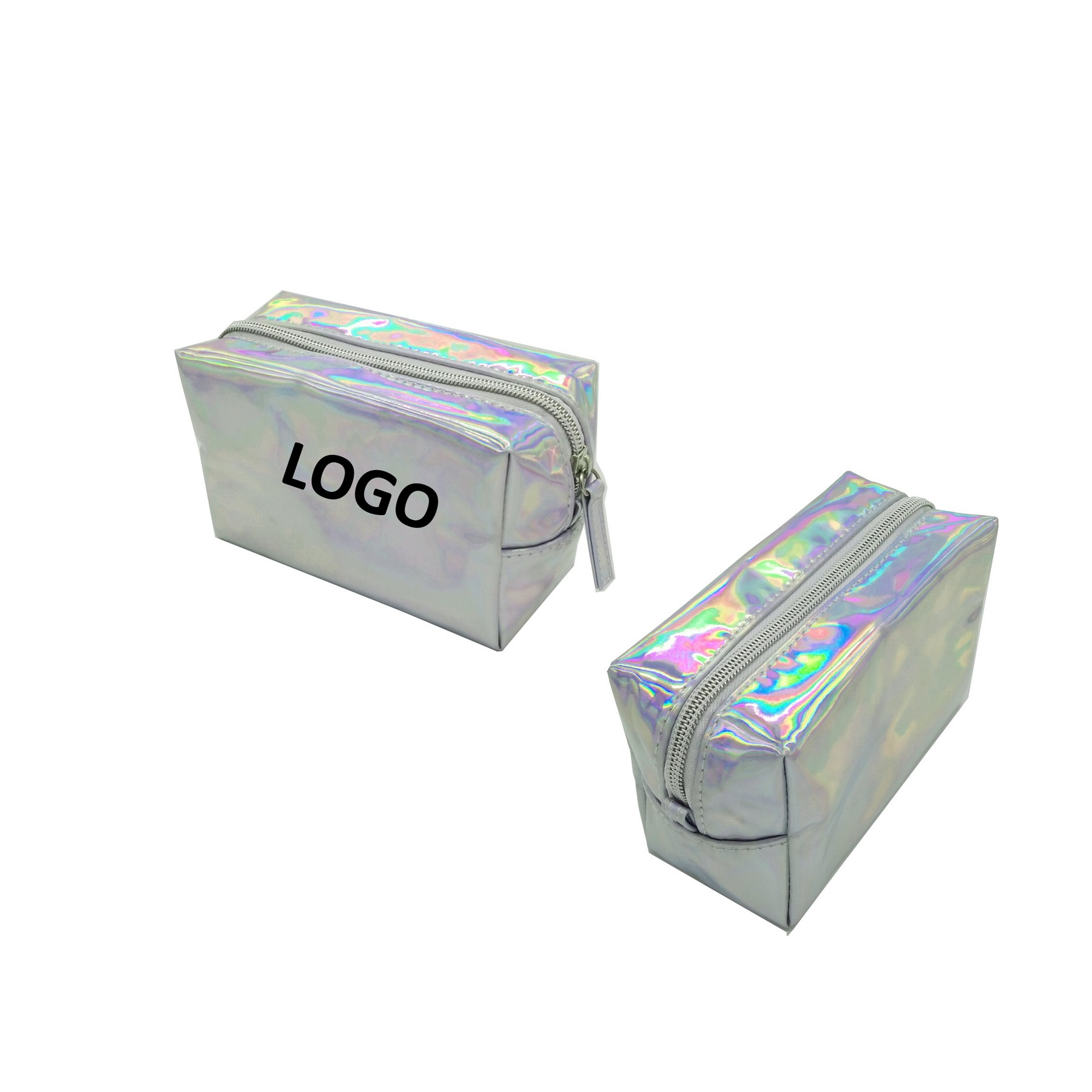 PVC Women Laser Magnificent Shiny Makeup Colorful Zipper Bag,Promotional Laser Cosmetic Bag Supplier In China,COSMETIC BAG