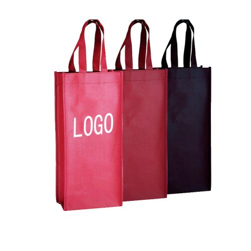 Promotional 2 Bottles Non-Woven Wine Bag,Promotional 2 Bottles Wine Bag, Non-Woven Wine Bag Supplier,WINE BAG