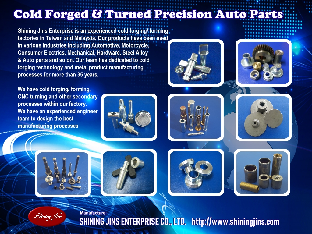 Cold forged & Turned parts