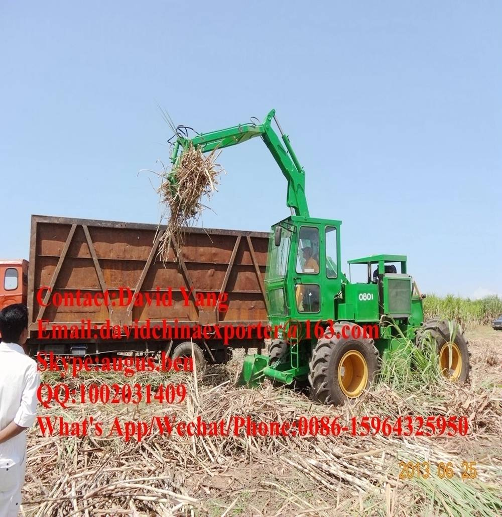 4 WD sugarcane grab loader same as John Deere