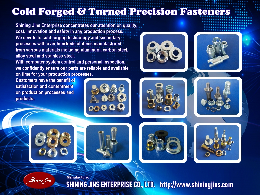 Cold forged & Turned Fasteners