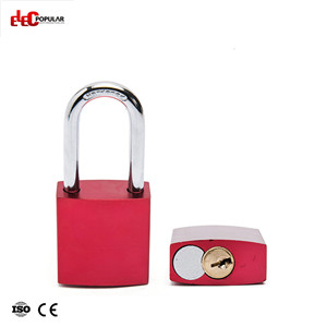 38mm Aluminum Steel Shackle Safety Padlocks EP-8521A  Metal Body Padlock