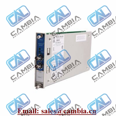 Bently Nevada	3500/93	Interface Module