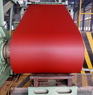 1.2*1010mm Red Pre Painted Galvanized Steel Coil