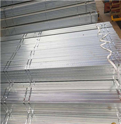 cold rolled galvanized steel square tube 40mmx40mm and 1.0mm thickness