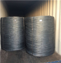 Carbon low-steel wire in Rod cabbage of steel thickness 3.5 mm