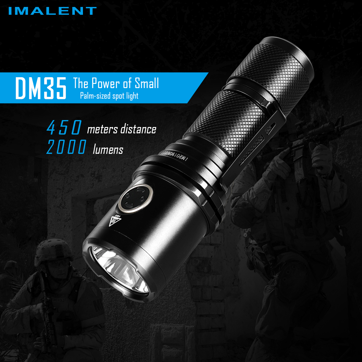 Imalent DM35 LED flashlight